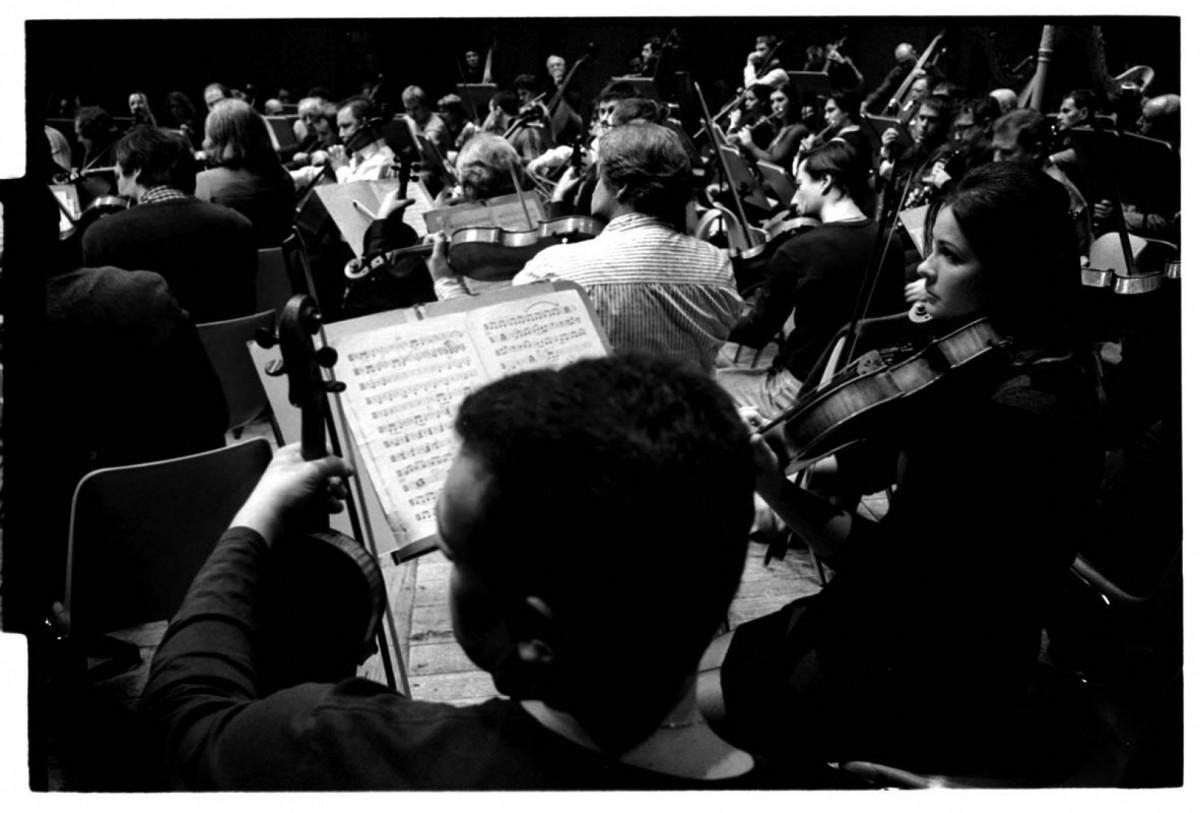 St.Peterburg Philharmonic rehearsal