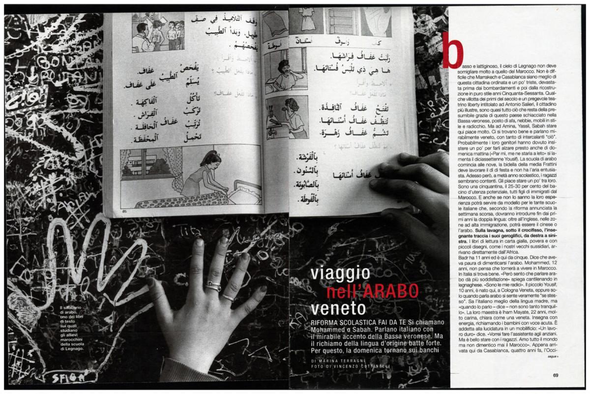 2001 - Arabic on Sunday - Io Donna