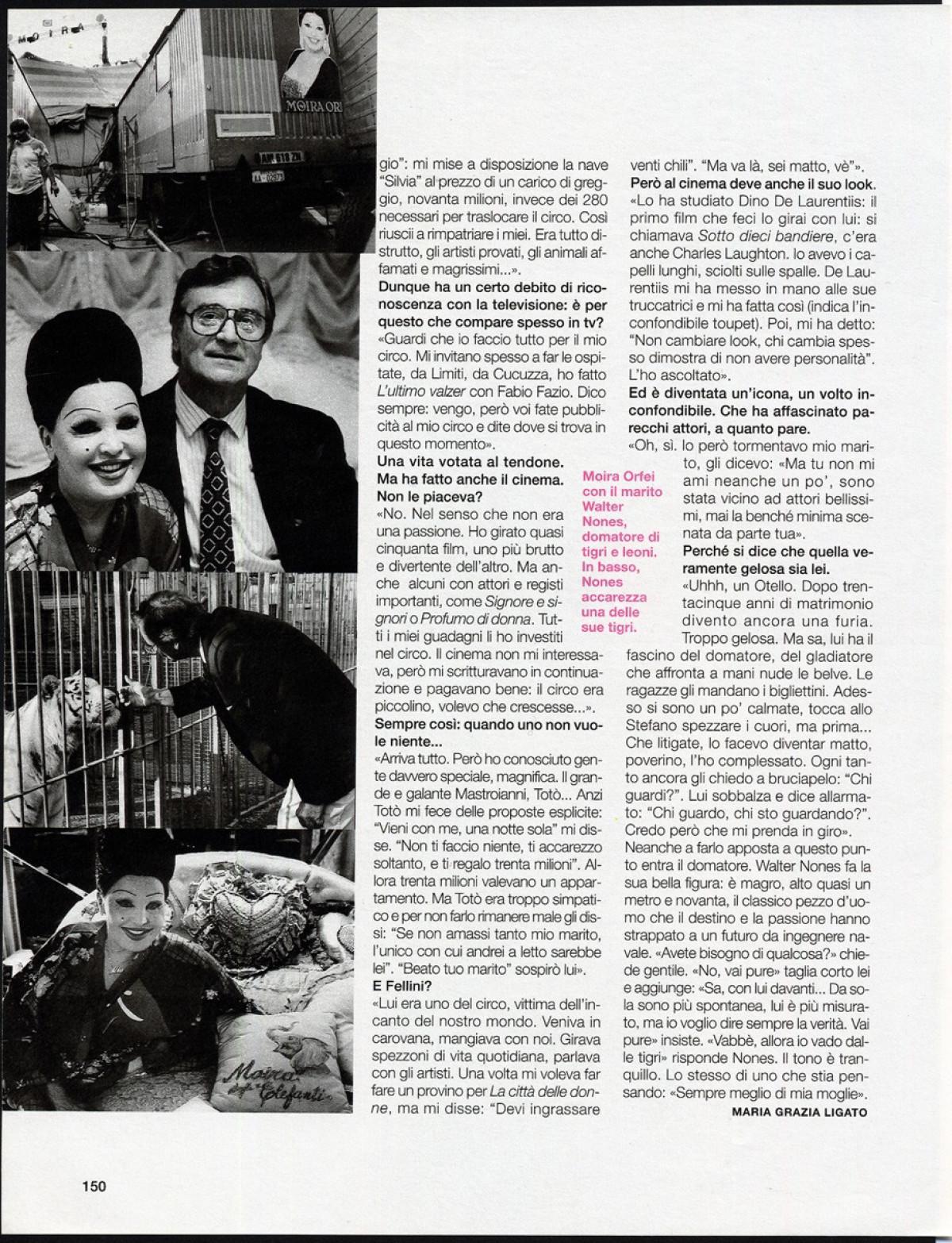 2002 - Moira Orfei - Io donna