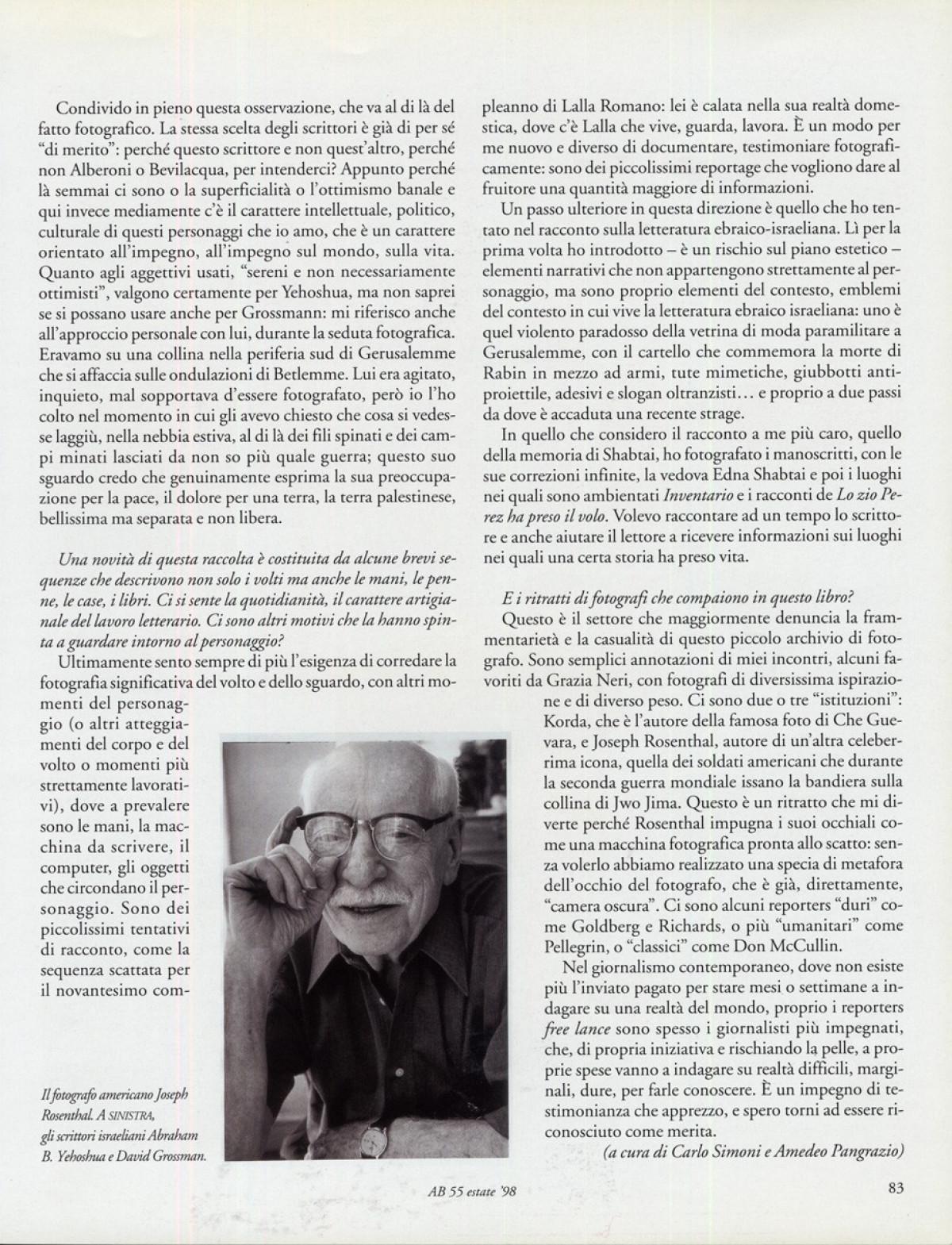 1998 - Scrittore - Atlante Bresciano